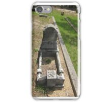 1877 childs grave marker iPhone Case/Skin