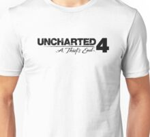 Uncharted 4 logo Unisex T-Shirt