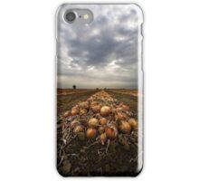 Onion field iPhone Case/Skin
