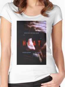 HEAT 8 Women's Fitted Scoop T-Shirt
