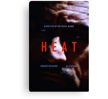 HEAT 8 Canvas Print