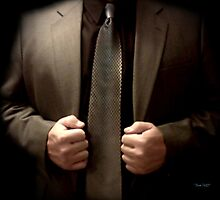 Airbrushed Tie Photographic Print