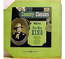 "Pee Wee King Country Classics 10""lp Waltzes, Western Swing Photographic Print"