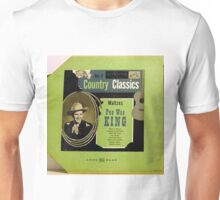 """Pee Wee King Country Classics 10""""lp Waltzes, Western Swing Unisex T-Shirt"""