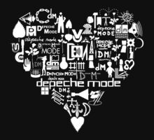 Depeche Mode : I Love DM - White by Luc Lambert