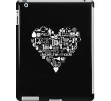 Depeche Mode : I Love DM - White iPad Case/Skin
