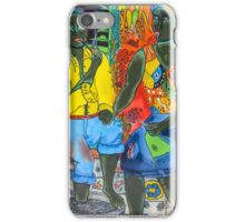 After the work, an Afro-American couple enjoying the evening iPhone Case/Skin