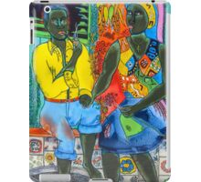 After the work, an Afro-American couple enjoying the evening iPad Case/Skin