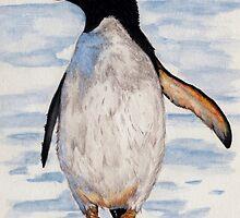 Penguin by KarenJI1962