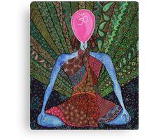 maditation, yoga  Canvas Print