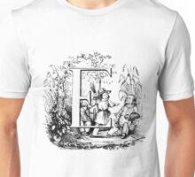 Child Alphabet Letter E Unisex T-Shirt