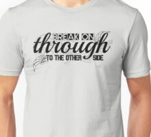 The Doors Break On Through Lyrics  Unisex T-Shirt
