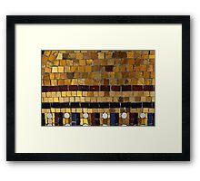 MoSaiC - JUSTART © Framed Print