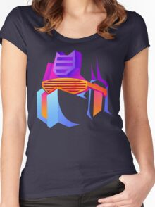 Retro Soundwave Women's Fitted Scoop T-Shirt
