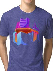 Retro Soundwave Tri-blend T-Shirt