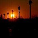 Liberty Sunset by Darren Freak