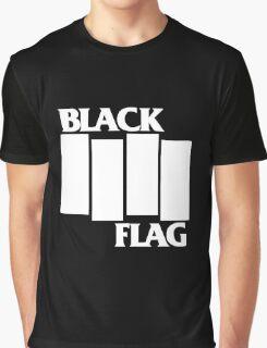 Black Flag Band Graphic T-Shirt