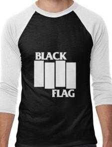 Black Flag Band Men's Baseball ¾ T-Shirt