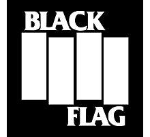 Black Flag Band Photographic Print