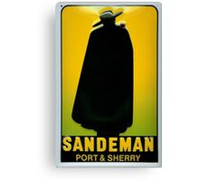 Sandeman Port and Sherry Ad Circa 1930s Canvas Print