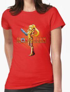 Iron Samus Womens Fitted T-Shirt