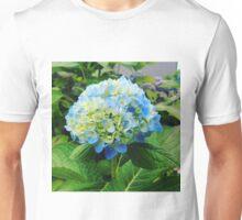 spring fresh blue green flower Unisex T-Shirt