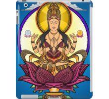 Female Buddha - VK - DILUSIONALL iPad Case/Skin