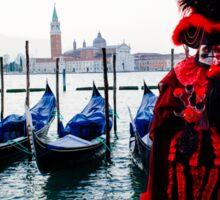Venice Carnevale 11 Sticker
