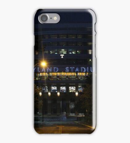 Neyland Stadium at Night iPhone Case/Skin