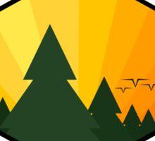 Pine Tree Sticker Sticker