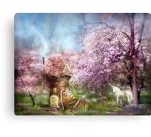 Once Upon A Springtime Canvas Print
