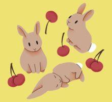 Cherry Bunny Kids Tee