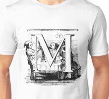 Child Alphabet Letter M Unisex T-Shirt