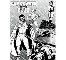 Guardians of the Blue - the new comic book! Photographic Print