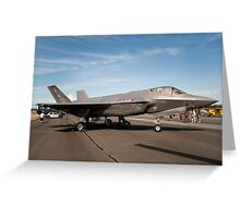 The USAF F-35A Lightning II Greeting Card