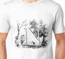 Child Alphabet Letter N Unisex T-Shirt