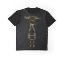 Tina Belcher Yellow Graphic T-Shirt