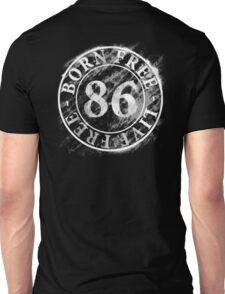 Born-free-Live-free Unisex T-Shirt