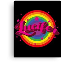 Lucifer Parody Canvas Print