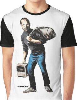 Banksy - Steve Jobs Graphic T-Shirt