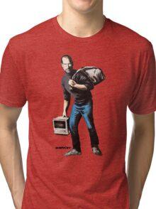 Banksy - Steve Jobs Tri-blend T-Shirt
