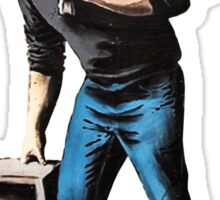 Banksy - Steve Jobs Sticker
