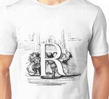 Child Alphabet Letter R  Unisex T-Shirt