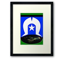 Torres Straight-up Dome Framed Print