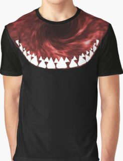 Sharkasm Red Graphic T-Shirt
