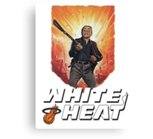 White Heat Canvas Print