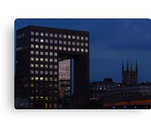 Office Squares & Southwark Cathedral Canvas Print