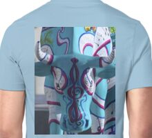 Painted Cow by Cathedral Youth, Ebrington Square Derry Unisex T-Shirt