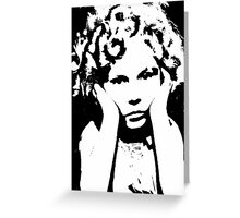 The Shirley Temple Pout Greeting Card