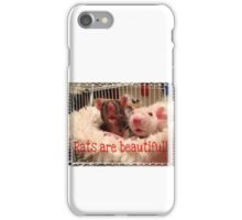Rats Are Beautiful iPhone Case/Skin